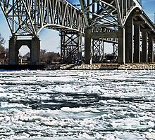 Bridge and Ice by cherylc1