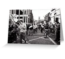 Taking over the Streets Greeting Card