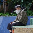 Old Man Watching -  Buenos Aires, Argentina by moensel