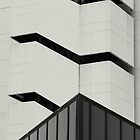 architectural # 12 - parallel black stripes by fabio piretti