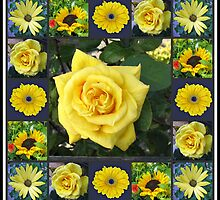 Golden Beauties Collage by BlueMoonRose
