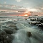 Moolooolaba Sunrise II by Melinda Kerr