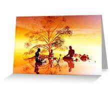 Ficus religiosa Greeting Card
