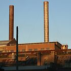 Balmain Power Station - Sunset by jhea5333