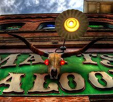 Matts Saloon by Bob Larson