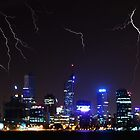 Perth Lightning by Paul Pichugin