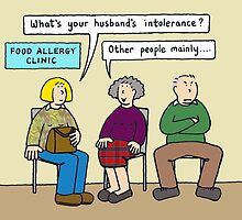 What's your husband's intolerance ? by KateTaylor