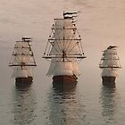 3 Ships by william ballester
