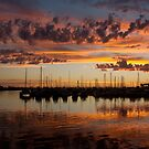 Sunset Harbor by Mark McClare