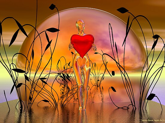 The Offering by Sandra Bauser Digital Art