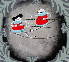 Tight Rope Walkers by emmaklingbeil