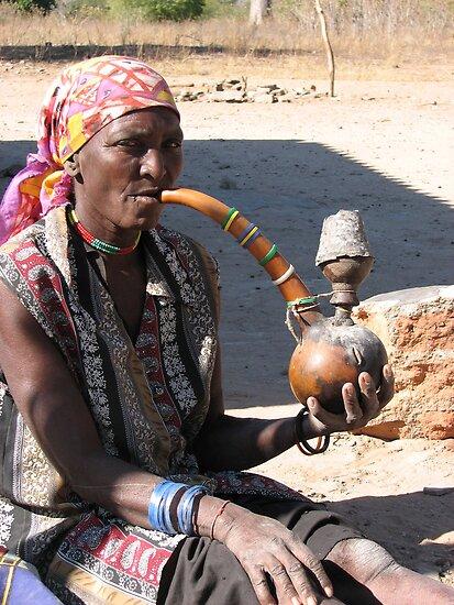 Zimbabwean hookah by Sara McDonald