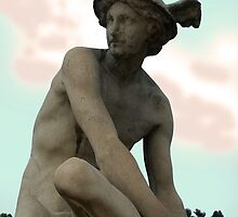 Hermes at Sanssouci in Potsdam, Germany by Michael Brewer