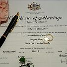Wedding Certificate by KeepsakesPhotography Weddings