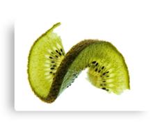 Kiwi With A Twist Canvas Print