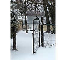 gated community? Photographic Print