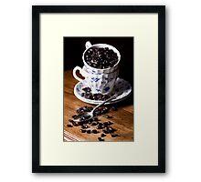 Coffee Addict Framed Print