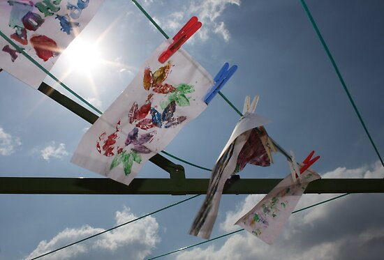 Clothesline Art by Tisa