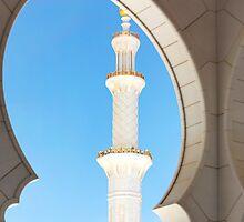 Sheik Zayed Mosque Detail by Mary Grekos