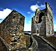 Carrigafoyle Castle Wall by Polly x