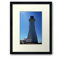 Green Cape Framed Print