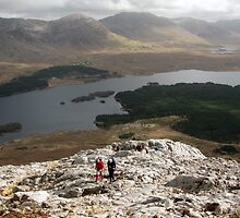 Derryclare Horseshoe walk by John Quinn