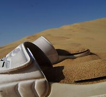 White Sandy Sandals by irwanla