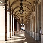 Lisbon Arch Way by lilivanili