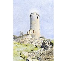 The tower at Piégut, France Photographic Print