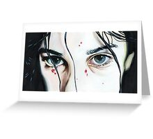 Let The Right One In Greeting Card