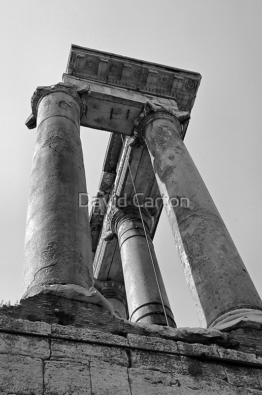 Temple of Saturn, Rome, Italy by buttonpresser