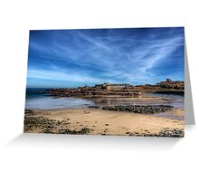 Across the bay to Fort Corblets Greeting Card