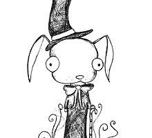 Top Hat Bunny by grimxbunny