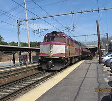 1035 MBTA Commuter rail by Eric Sanford