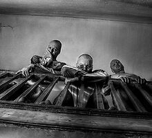 Three stares downstairs by craig sparks