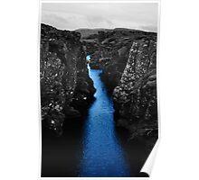 Þingvellir national park, iceland Poster