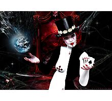 Cosmic Joker Photographic Print