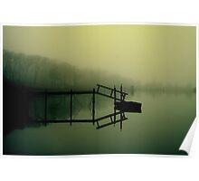 Reflections on Noyac Bay Poster