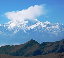The Himalayan range by chintan