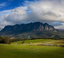 Mt Roland - Sheffield Tasmania by Hans Kawitzki