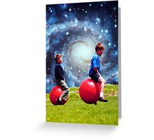 Play...Just Because Greeting Card