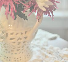 A touch of lace... by Lisa Argyropoulos