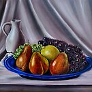 """""""Still Life - Fruit"""" - Oil painting by Avril Brand"""