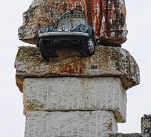 VW sandwich, Parco Scultura La Palomba, Matera, Basilicata, Italy by Andrew Jones