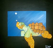 I like turtles by Levi Moodie