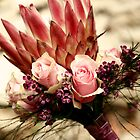 Protea Bridal Bouquet by Marethe