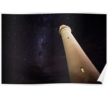 Split Point and Milky Way Poster