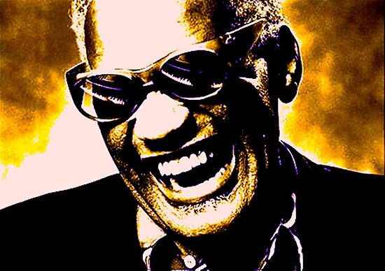 ray charles by KEITH  R. WILLIAMS