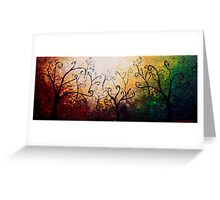 The Forest Curls Greeting Card