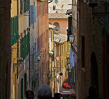 siena street by linelight